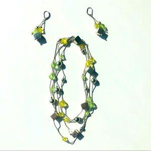 ✨SILPADA Necklace + Earrings